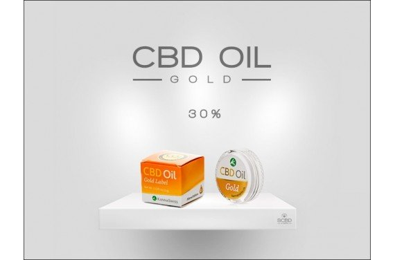 CBD Oil Gold Label 30%